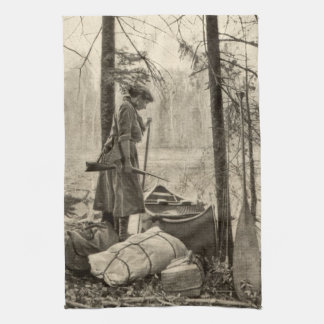Vintage Winchester Firearm Outdoor Kitchen Towel