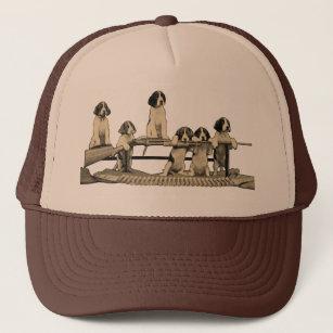 e439463c8d Vintage Winchester Firearms Dog Puppy Trucker Hat