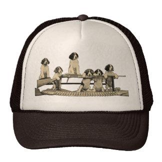Vintage Winchester Firearms Dog Puppy Trucker Hat