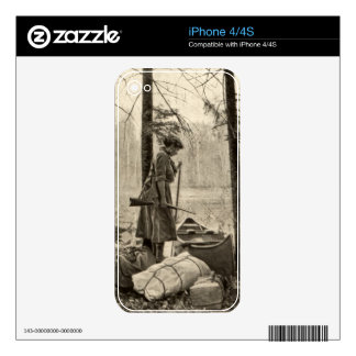 Vintage Winchester Outdoors Apple iPhone 4 4S Skin Skins For The iPhone 4S