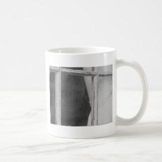 Vintage Window Pane Coffee Mug