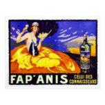 Vintage wine ad post cards