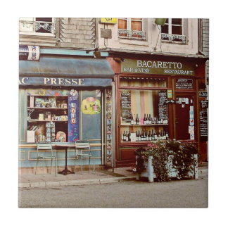 Vintage wine bar & restaurant in France, Normandy Tile