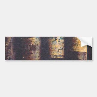 Vintage Wine Bumper Stickers