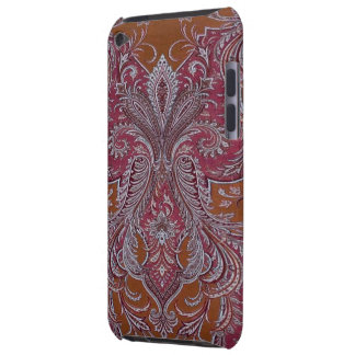 Vintage Wine Copper Damask Case-Mate iPod Touch iPod Touch Case
