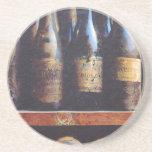 Vintage Wine Drink Coasters