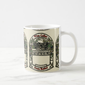 Vintage Wine Label, add text Coffee Mug