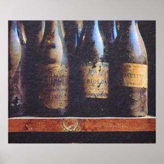 Vintage Wine Poster