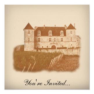 Vintage Winery Wine Tasting Party Invitation