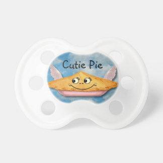 Vintage Winged Cutie Pie Customizable Pacifier