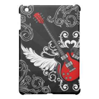 Vintage Winged Guitars Rock n Roll iPad Mini case
