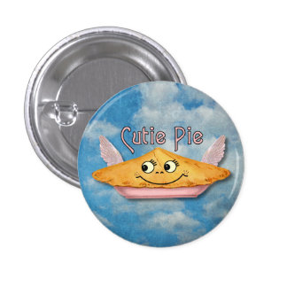 Vintage Winged Pie in the Sky Buttons