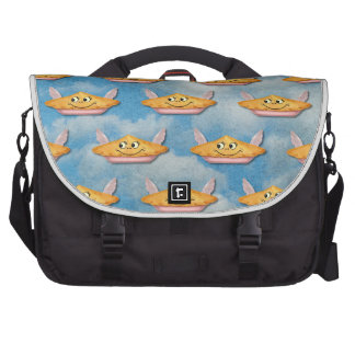 Vintage Winged Pie in the Sky Computer Bag
