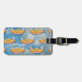 Vintage Winged Pie in the Sky Luggage Tag