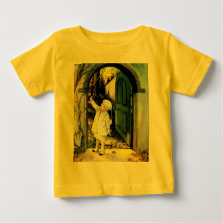 Vintage Winter Scene Baby T-Shirt