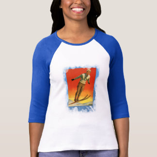 Vintage Winter Sports - Ski jump T-Shirt