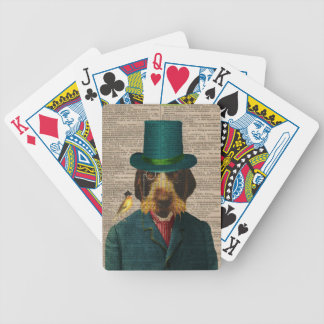 Vintage Wirehaired Pointing Griffon Playing Cards