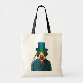 Vintage Wirehaired Pointing Griffon Tote Bag