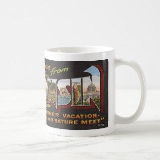 Vintage Wisconsin Coffee Mug