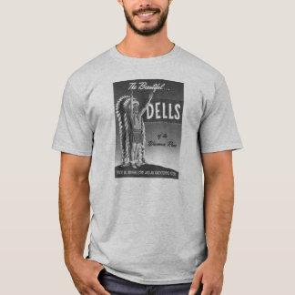 Vintage Wisconsin Dells 'Chief' Ad Art Kitsch T-Shirt