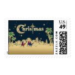 Vintage Wisemen/sello religioso del navidad del