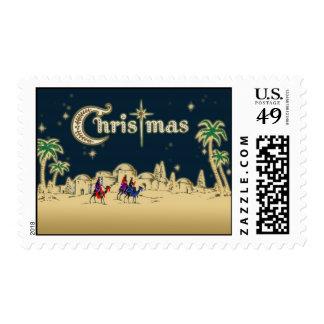 Vintage Wisemen/sello religioso del navidad del Sellos Postales