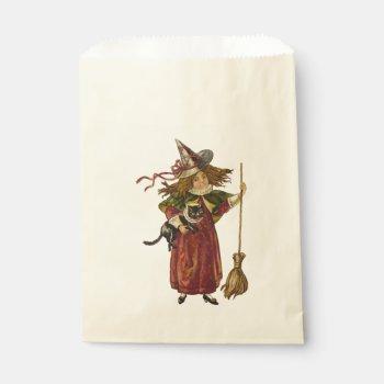 Vintage Witch Favor Bag