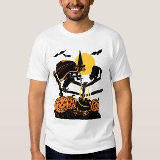 Vintage Witch Halloween T-Shirt