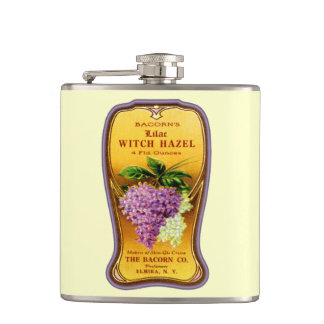 Vintage Witch Hazel Hip Flask