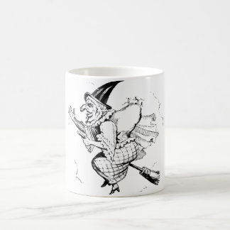 Vintage Witch illustration Coffee Mug