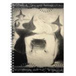 Vintage Witch Journal Spiral Note Book
