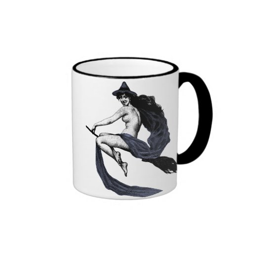 Vintage Witch Mugs