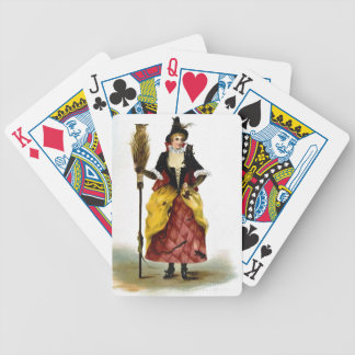 Vintage Witch Playing Cards