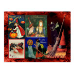 Vintage Witches and Black Cats Postcards