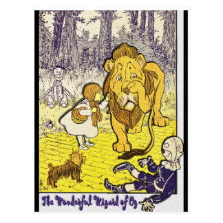 Vintage Wizard of Oz 1st Edition Print Postcards
