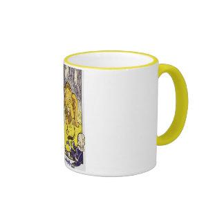 Vintage Wizard of Oz 1st Edition Print Ringer Mug