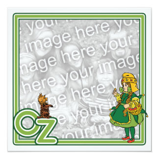 Vintage Wizard of Oz Baby Shower Party Invitation