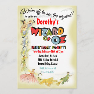 Emerald City Instant Download Birthday Party Wizard of Oz Invitation with Photo Baby Shower Ruby Slippers Bridal Shower Shower