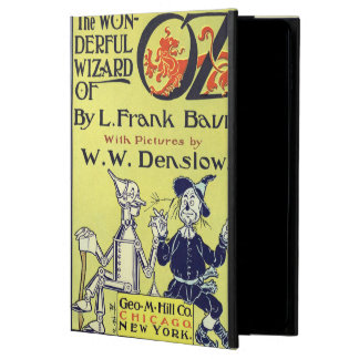 Vintage Wizard of Oz Book Cover Art, Title Page Powis iPad Air 2 Case