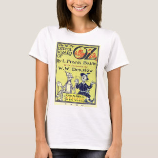 Vintage Wizard of Oz Book Cover Art, Title Page T-Shirt