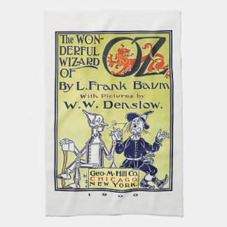 Vintage Wizard of Oz Book Cover Kitchen Towel