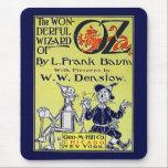 "Vintage Wizard of Oz Book Cover Mouse Pad<br><div class=""desc""></div>"