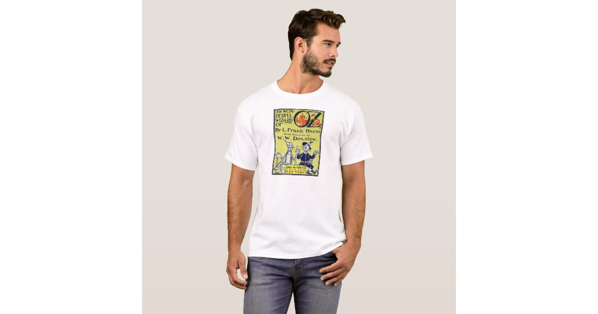 Vintage Book Cover T Shirts ~ Vintage wizard of oz book cover t shirt zazzle