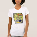 Vintage Wizard of Oz Book Cover T-shirt