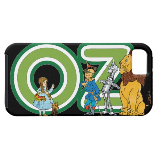 Vintage Wizard of Oz Characters and Letters iPhone 5 Covers