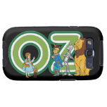 Vintage Wizard of Oz Characters and Letters Samsung Galaxy SIII Cases