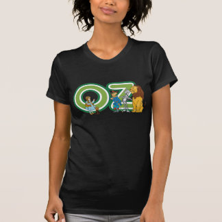 Vintage Wizard of Oz Characters and Letters Shirts