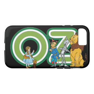 Vintage Wizard of Oz Characters and Text Letters iPhone 7 Case