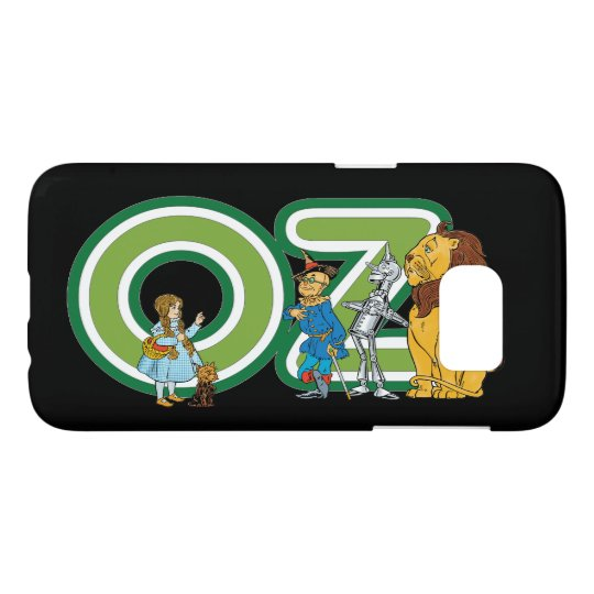 Vintage Wizard of Oz Characters and Text Letters Samsung Galaxy S7 Case
