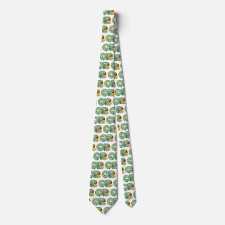 Vintage Wizard of Oz Characters and Text Letters Tie